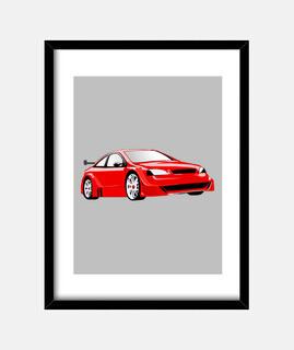 Cadre voiture