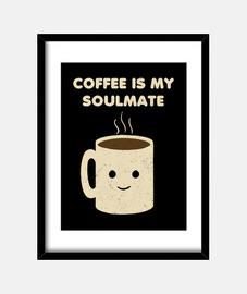 caffè è la mia anima gemella