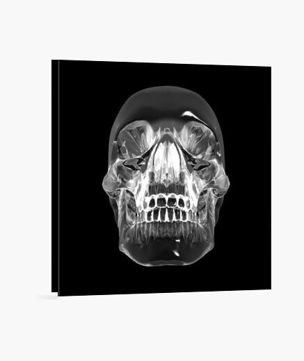 Lienzo Calavera de cristal - Cristal Skull