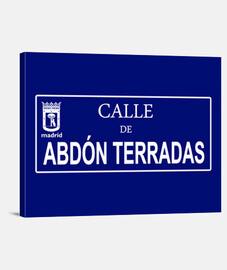 Calle de Abdón Terradas