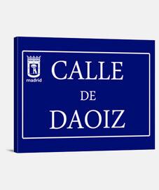 Calle de Daoiz
