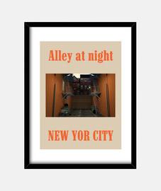 Callejón en Nueva York