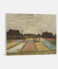 Camas de flores en Holanda (1883)