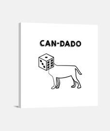 CAN-DADO (Lienzo Cuadrado)