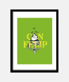 Can Felip, quadre verd