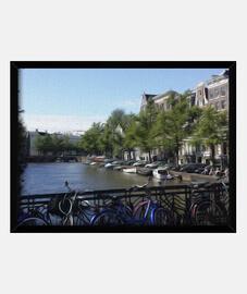 Canales de Amsterdam cuadro