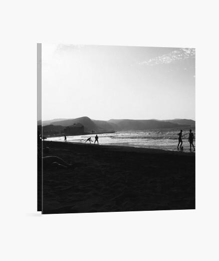 Canarias - tela cuadrato 1: 1 - (40 x 40 cm)