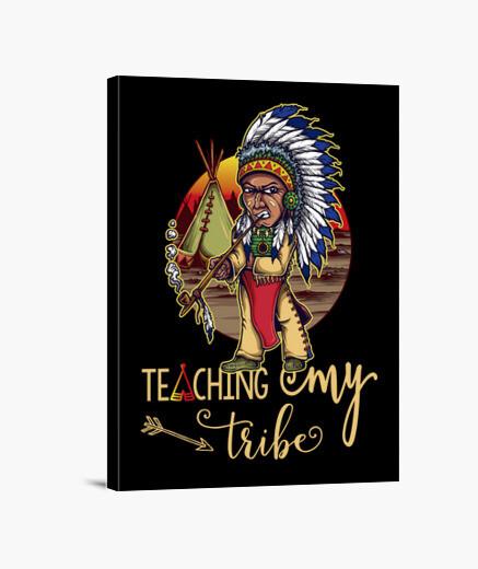 Canvas humor gift idea teacher teacher...