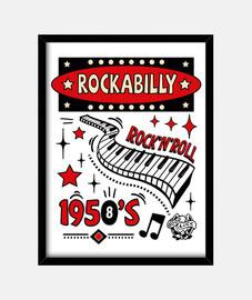 carillon vintage rockabilly degli anni '50 rockers usa