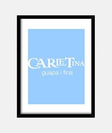 Carletina charmante et mince