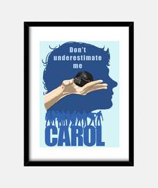 Carol con granada