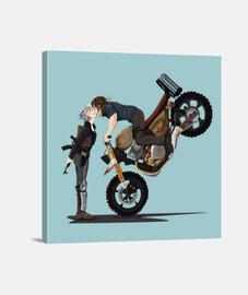 Carol y Daryl beso