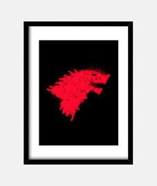 Casa Stark. Juego de Tronos