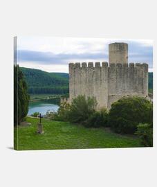 Castillo con tumba