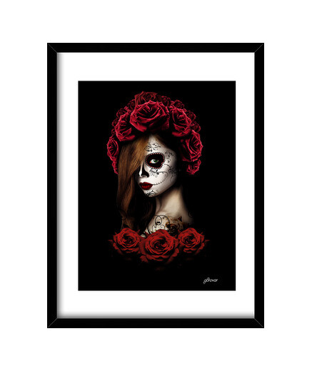 Open Framed Prints skulls