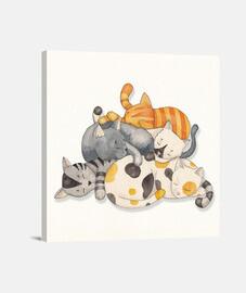 chat -siesta de la sieste