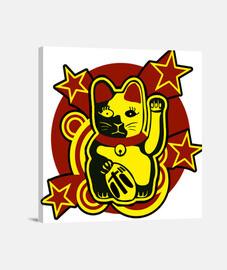 chat chanceux: maneki-neko