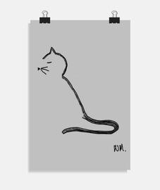 chat minimaliste