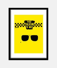 chauffeur de taxi - vous me parler?