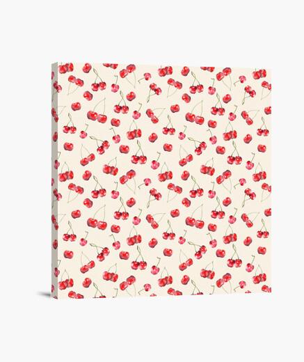 Lienzo Cherry Pattern