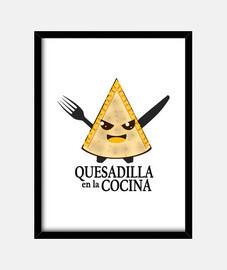 chesadilla in cucina