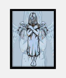 chica ángel gana sus alas