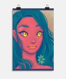 Chica de Marte poster