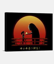 chihiro su sunset