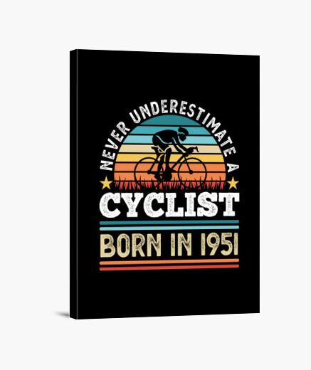 Lienzo ciclista nacido en 1951 70...