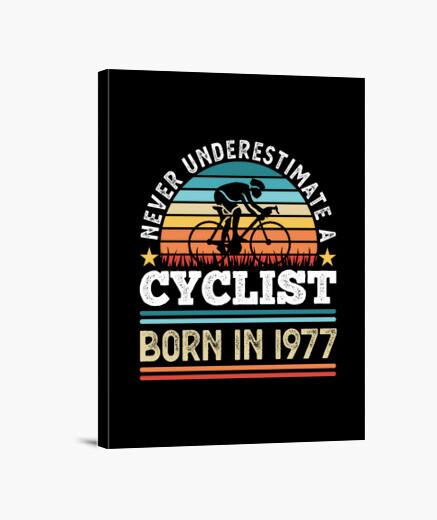 Lienzo ciclista nacido en 1977 50...