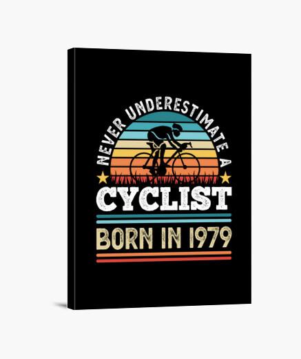 Lienzo ciclista nacido en 1979 50...