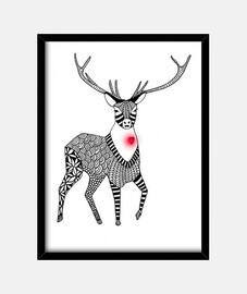 ciervo corazon