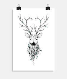 ciervo poético