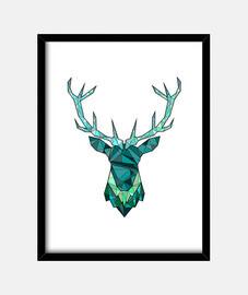 ciervos inconformista azul