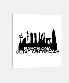 Ciutat Gentrificada Lienzo Cuadrado 1:1 - (40 x 40 cm)