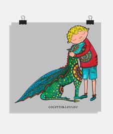 Clément et son dragon