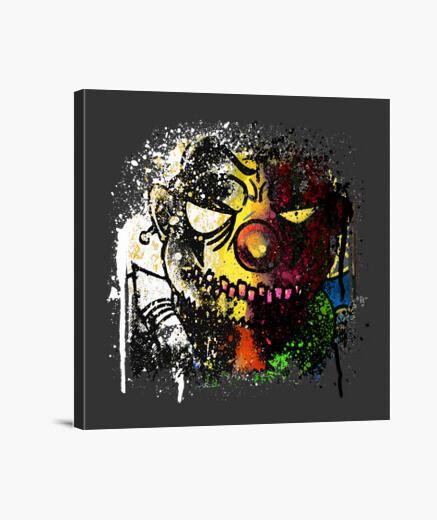 Clown canvas