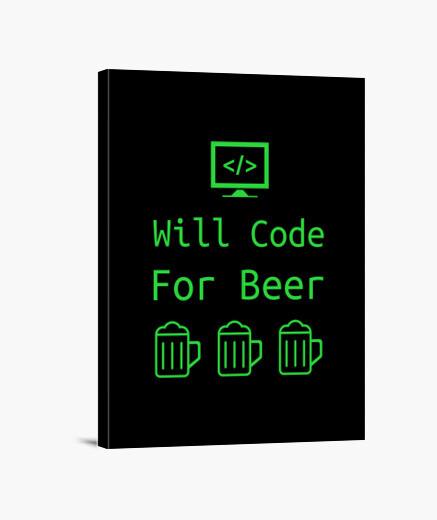 Stampa su tela codificherà per il regalo...