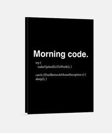 código de la mañana