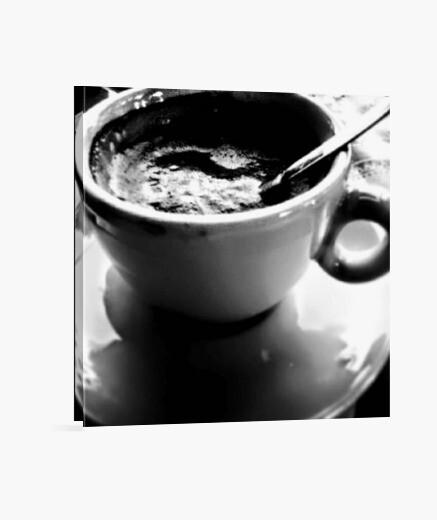 Stampa su tela coffee
