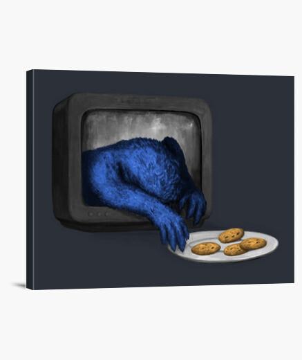 Lienzo comerá todas las cookies