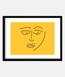 confusion horizontal box (4: 3) black frame
