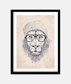 Cool lion cuadro