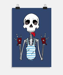 cooles Skelett