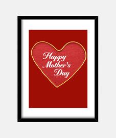 Corazon feliz dia de la madre