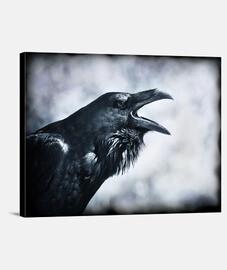 corbeau y.es 069a 2019 corbeau impression sur toile