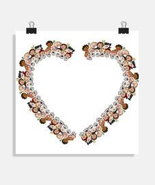 Coro de corazones