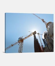 costruzione nella tela di air