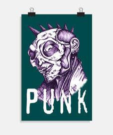 couleur zombie punk