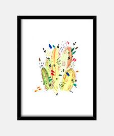 couleurs de cactus